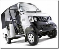 Mahindra Lauched Gio Compact Cab side view