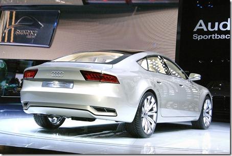 2012 Audi A7 rear view