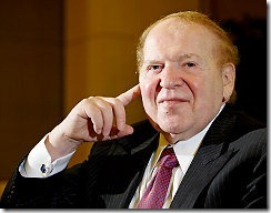 Sheldon Adelson Net Worth In May 2011
