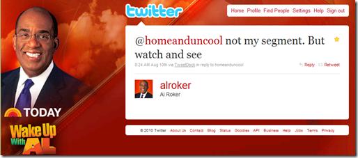 al roker twitter response