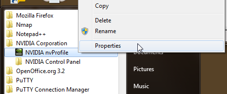 nvidia shortcut key