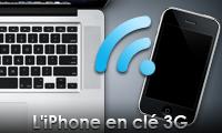 TUTO : iPhone en clé 3G via Wi-Fi/USB avec PdaNet !