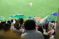 Tokyo, Spiel der Giants im Tokyo Dome – 07-Aug-2009
