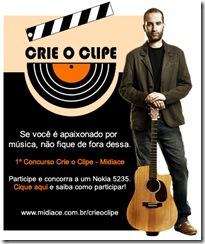 Banner do concurso Crie o Clip