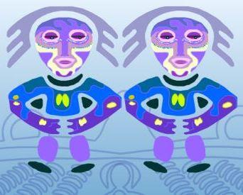 Онлайн гадание «Двойняшки» (Персмский Оракул)