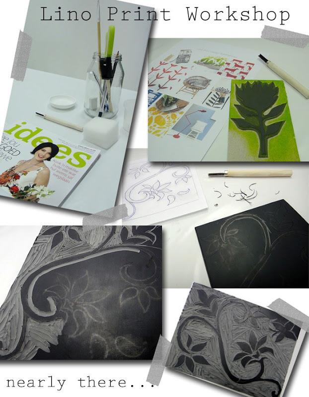 Lino Print Workshop 1