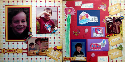scrapbooking page ideas
