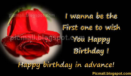 Advance Birthday  Image - 6