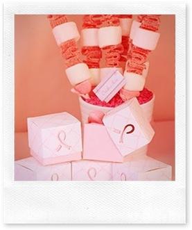 Table à desserts pour Octobre Rose +