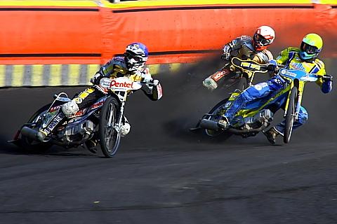 Speedway, wyścigi na żużlu.