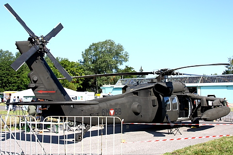 Sikorsky S-70A-42 Black Hawk.