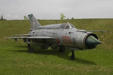 Mikojan-Gurewicz MiG-21 Fishbed, samolot myśliwski.