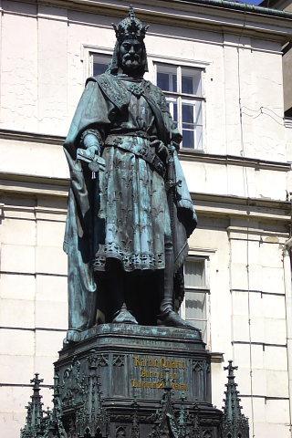 Pomnik Karola IV. Praga, Czechy.