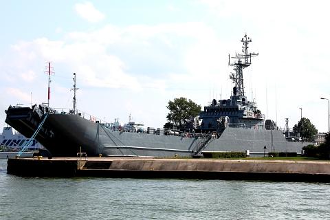 Okręt transportowo-minowy projektu 767 (typ Lublin).