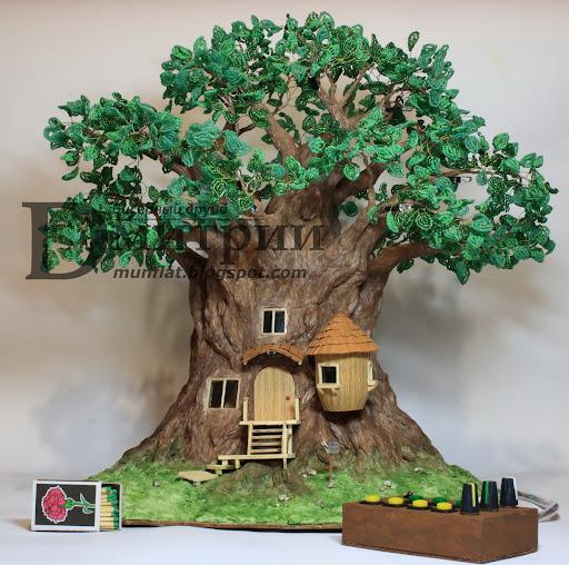 Красивые деревья сделанные своими руками