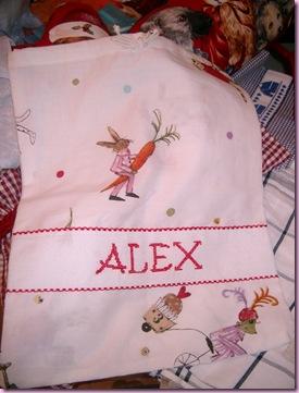 sacchetto asilo alex