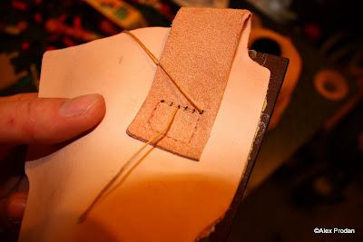 cum sa faci o teaca de cutit din piele