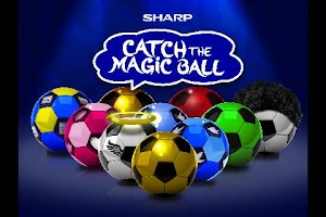 Screenshot of Catch The Magic Ball