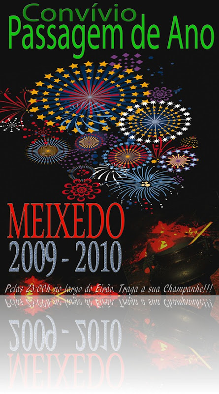 cartaz passagem de ano 2009