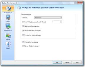 画面 キャプチャーソフトGadwin PrintScreen、画像のリサイズも超簡単