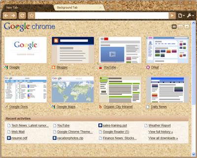 google chromeの公式テーマ ギャラリーがついに利用可能に web