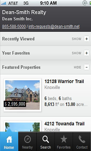 Knoxville Real Estate Search