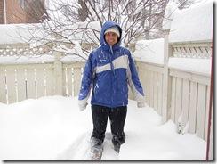 snow pic me