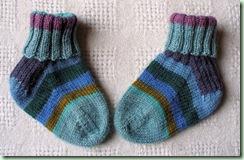 Rosebud Third Socks