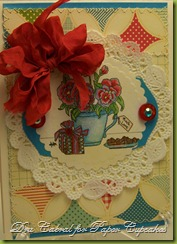 Paper Cupcakes - Tea Party Blog Hop - Much Love
