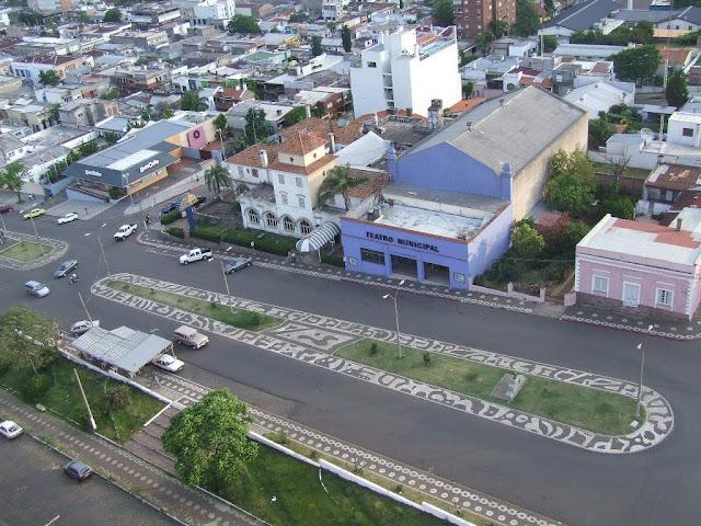Frontera de la Paz, Rivera (Uruguay) - Livramento (Brasil)