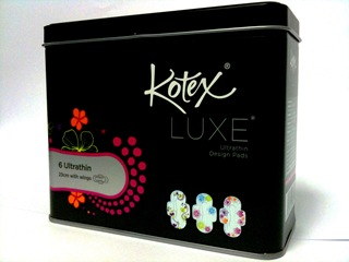 Kotex Luxe Ultrathin Design Pads (Promo Tin)_2