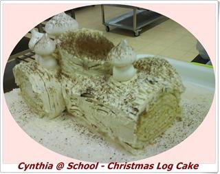 Blog - log cake