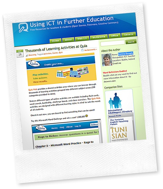 Using ICT in further education