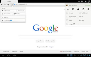 Screenshot of Maxthon Browser - Fast