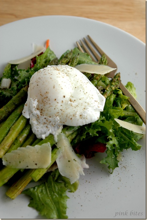 asparagus poached egg salad 3