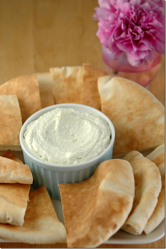 ricotta tahine dip 
