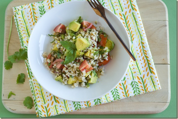 barley avocado salad