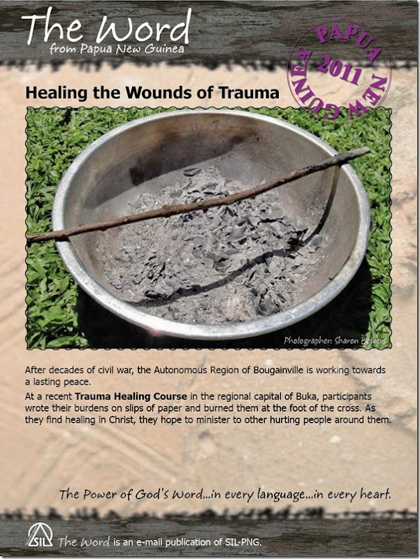 Healing the Wounds of Trama