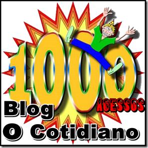 1000 acessos