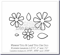 DieNamicsFlowerAndLeafTrio