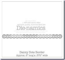 Dainty Dots Border Die-namicsSMALL