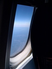 airplane window