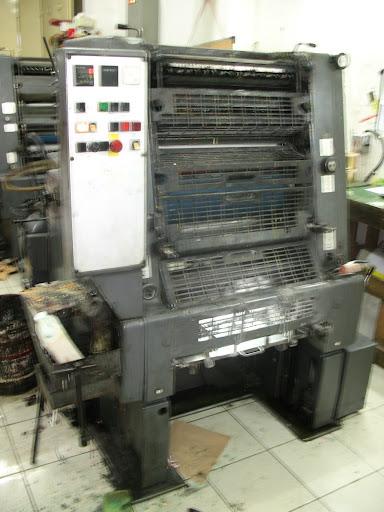 mesin cetak heidelberg GTO 52 2 warna