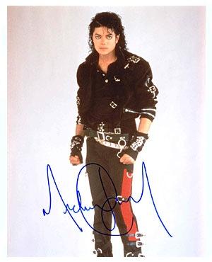 Autografo Michael