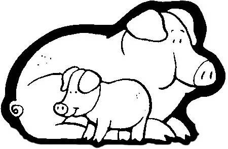 Portal de belen para colorear ovejas cerdos gallinas y - Figuras belen infantil ...