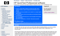 HP QuickTest Professional Software site