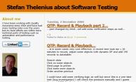 Stefan Thelenius' blog