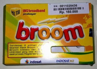 IndosatM2 (IM2) Broom Unlimited