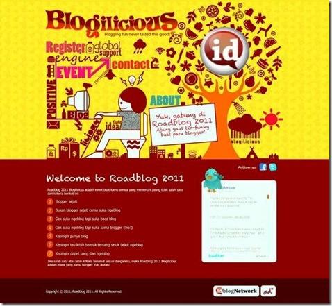 Roadblog - Blogilicious 2011