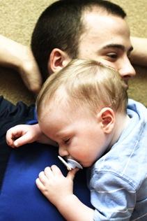 Baby Jon resting, (whitemask edit)